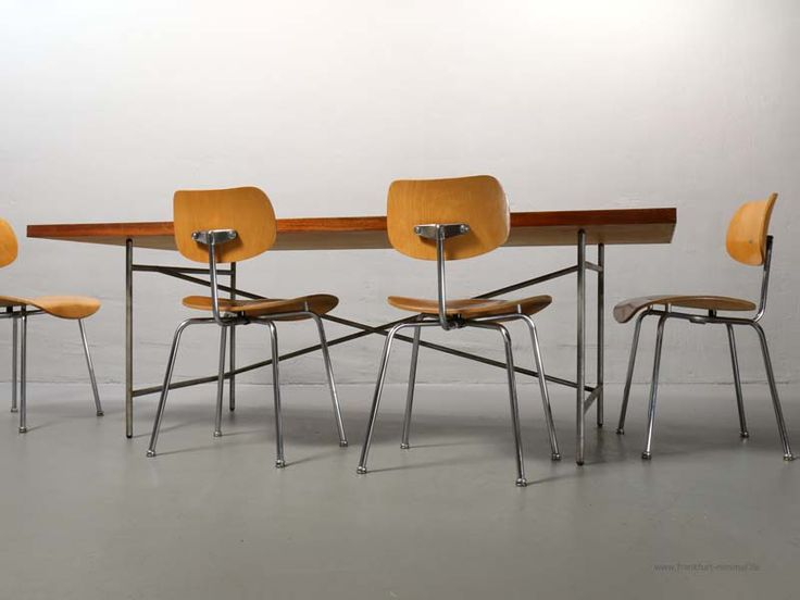 Egon Eiermann Eiermann 1 Table, 200 x 105 cm, The Original 1953