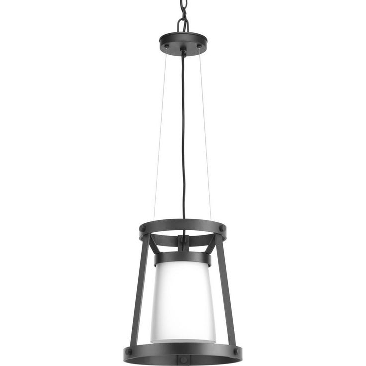 Progress Lighting Mobi 1 -Light Graphite Pendant