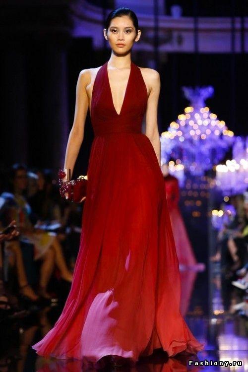 Elie Saab Haute Couture Осень-Зима 2014-2015