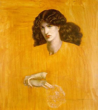 The Lady of Pity (La Donna della Finestra) - Dante Gabriel Rossetti