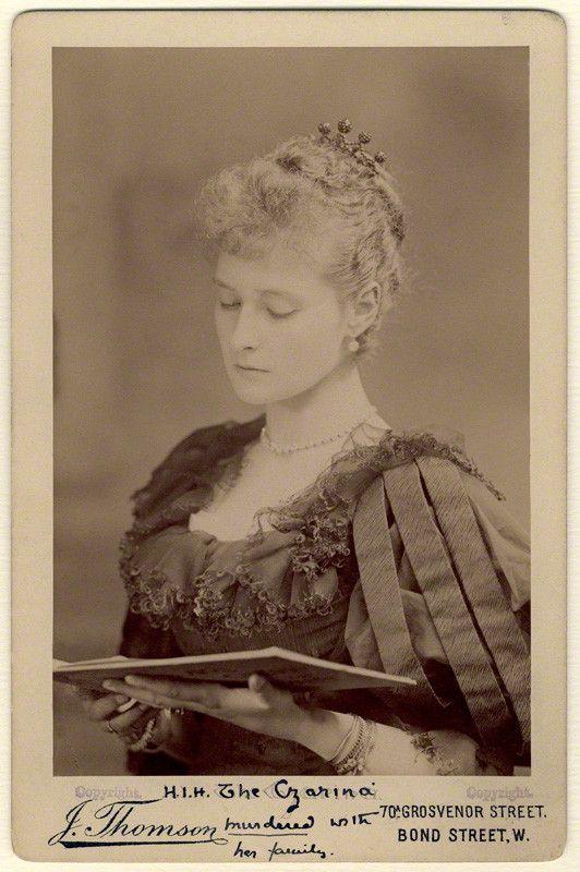 My Ear-Trumpet Has Been Struck By Lightning, historysquee: Alexandra, Empress of Russia (née...wife of Nicholas & Grandaughter of Queen Victoria