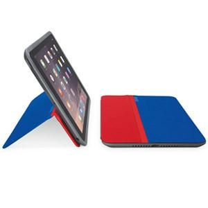 Logitech AnyAngle Protective Case & Stand for iPad mini 1/2/3 - Blue/Red