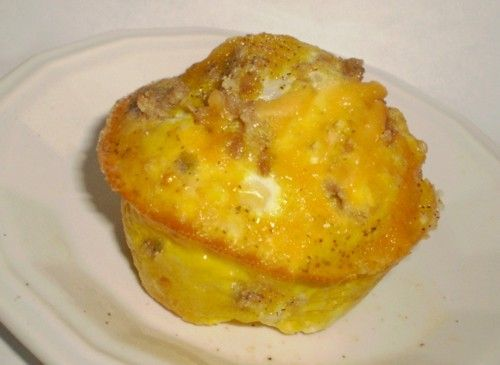 Cheesy Sausage Egg Muffins (Low Carb). | Recipe Kitchen | Pinterest
