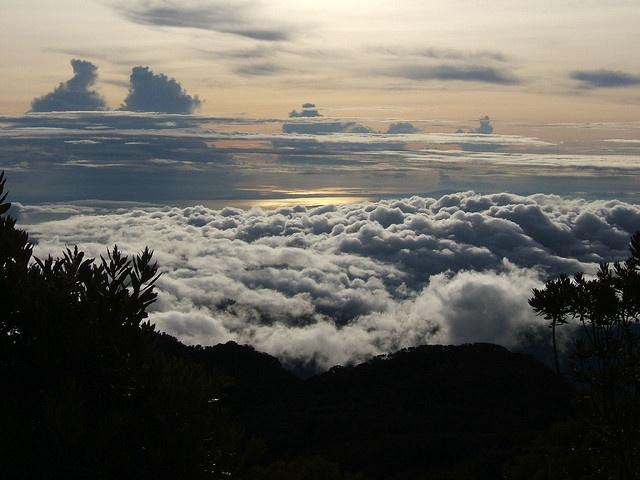 Amanecer desde el Volcan Baru, Chiriqui, Panama