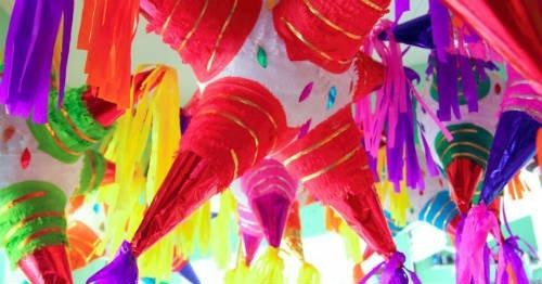 Tradiciones decembrinas: Piñatas