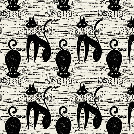 Casting_Cat fabric by hoodiecrescent