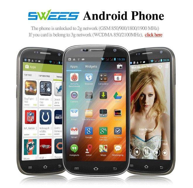 "Smartphone 5.0"" Android 4.1 Mobile Telefoni Cellulare Dual Core Nero Sistema operativo:Android 4.2.2 Jelly Bean -5.0 Megapixel"