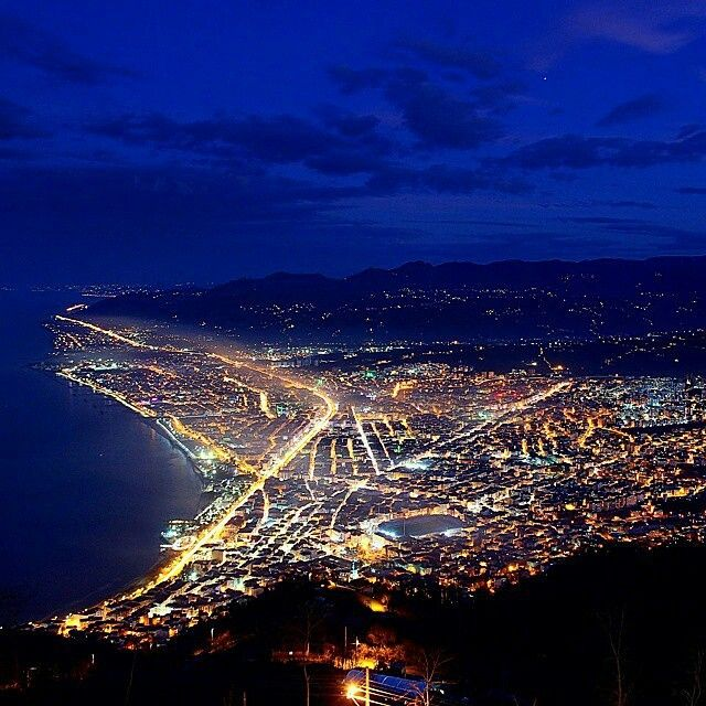 """Gecenin mavisi... photo@pskalidemir #boztepe #ordu #karadeniz #turkey #memleketordu #blue #night #travel"""