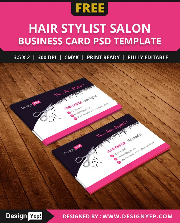 free hair stylist salon business card template psd free business card pinterest stylists. Black Bedroom Furniture Sets. Home Design Ideas