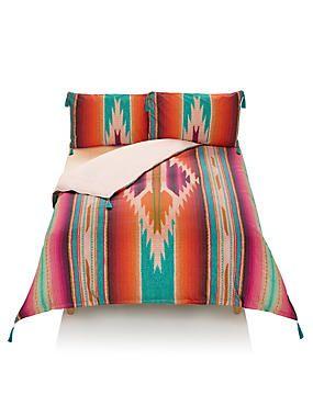 Peruvian Tapestry Digital Print Bedding Set