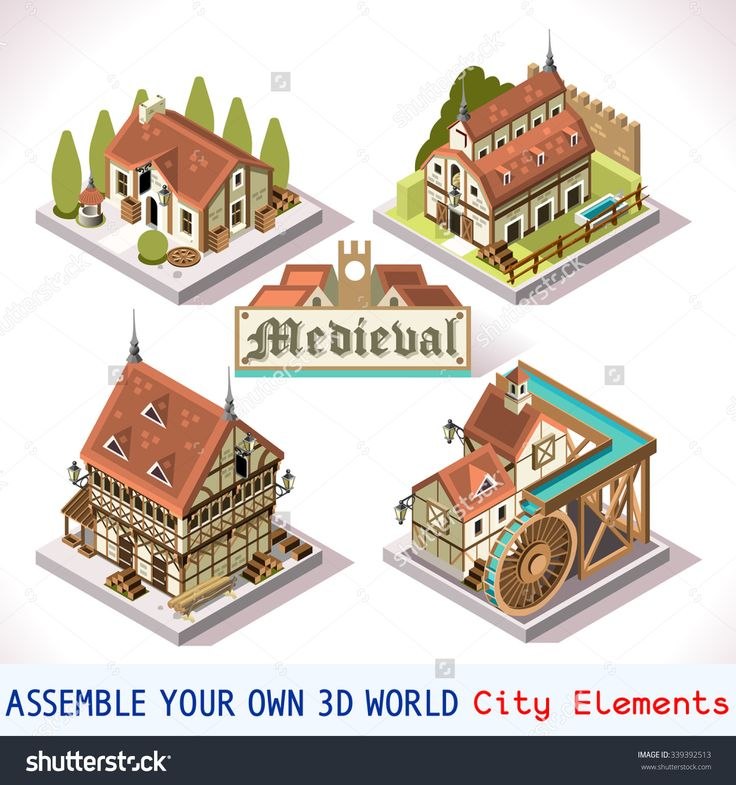 #gamedev #gameinsight #androidgames #ipadgames. Stock vector images gallery @ http://www.shutterstock.com/g/aurin/sets/12289149--d-isolated-buildings-collection