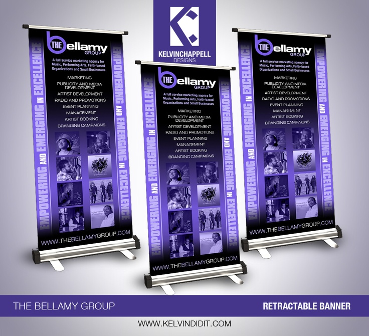 #Tradeshow Banner Design for #Marketing Company The Bellamy Group #GraphicDesign #KelvinDidIt