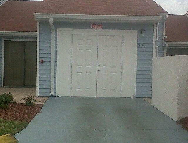 Garage Door Conversion Back Door Ideas Pinterest