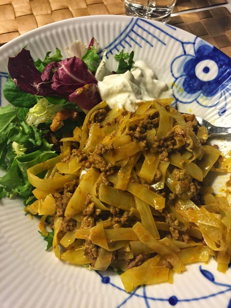 Charlottes Madblog: Karrykål - virkeligt lækkert