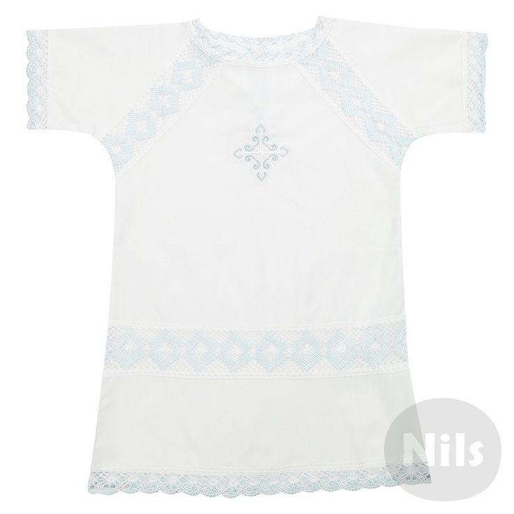 Рубашка ДЛЯ КРЕЩЕНИЯ (голубой, 1607) купить в Москве. Цены, фото | Интернет-магазин Nils.ru