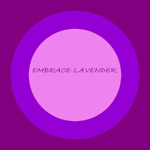 Kat's Switchphrase for September 10, 2015  EMBRACE-LAVENDER. (Give and receive complete acceptance, let go of anxiety and relax into sleep.)  I am presenting this inside a Purple TESLA Energy Circle.