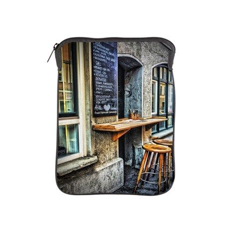 Cafe Stools iPad Sleeve. $38.50