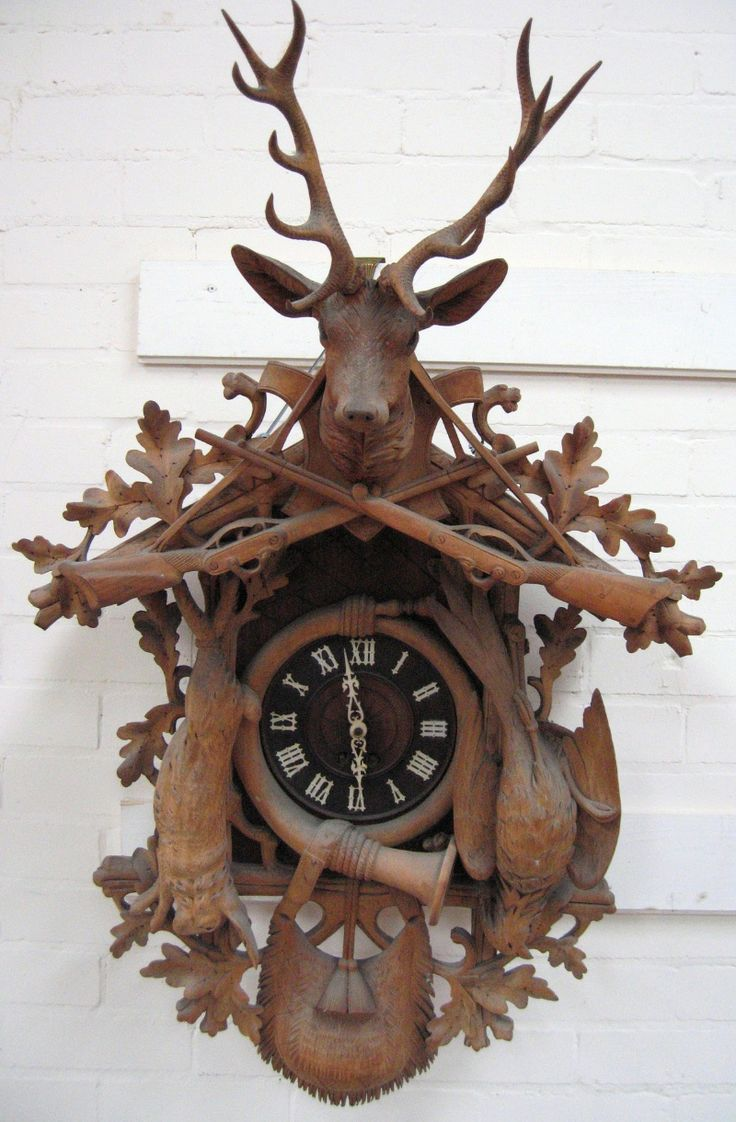 love cuckoo clocks. Still have one like this- my brother sent me from the Black Forest in Germany in 1965
