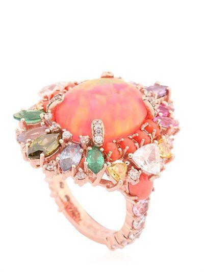 Pink Opal Nereides Ring #AustraliaOpal
