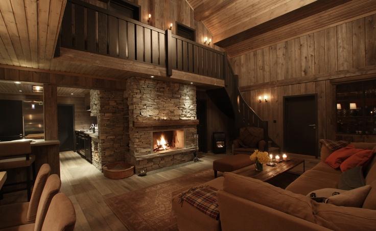 Hytte Hardangervidda - prosjektering og innredning av Scenario interiørarkitekter MNIL - Fotograf: Kristin Åsarmoen Rygg  © - #interior #cabin #Norway #Vinter #home #Interiør #scenariointark