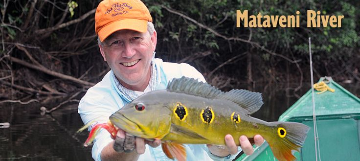 Mataveni - Colombia Peacock Bass Fishing - THE FLY SHOP® - Fly Fishing Travel Vacations to the Worlds Finest Locations