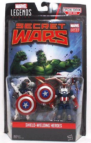 Marvel Legends Series Secret Wars Vance Astro & Captain America