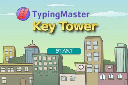 KeyTower Typing Game - Free Keyboard Typing Test Game