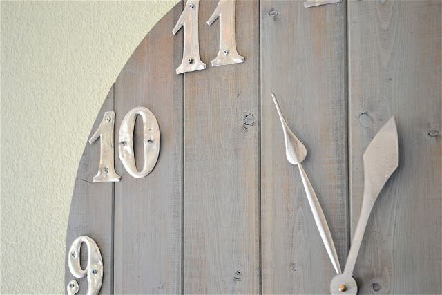 diy wall clock