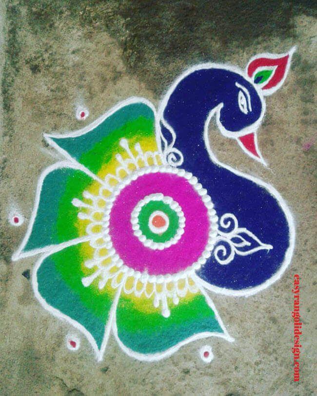 100 Latest Rangoli Designs Rangoli Ideas February 2020 In 2020 Rangoli Designs Rangoli Designs Flower Rangoli Designs Latest