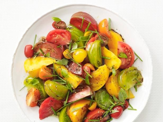 Tomato Salad : When summer tomatoes are abundant, you'll want to make this simple, fresh salad every night.