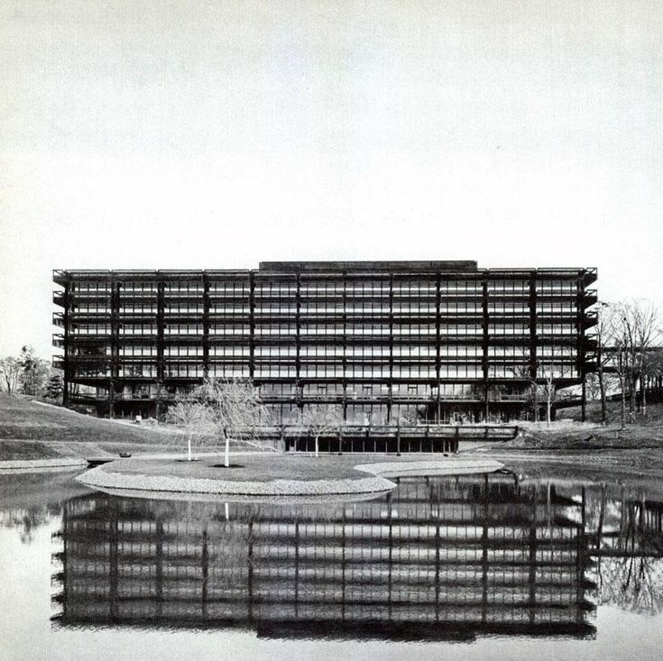 Eero Saarinen: Deere and Co. headquarters - From the Archive - Domus 422 / January 1965