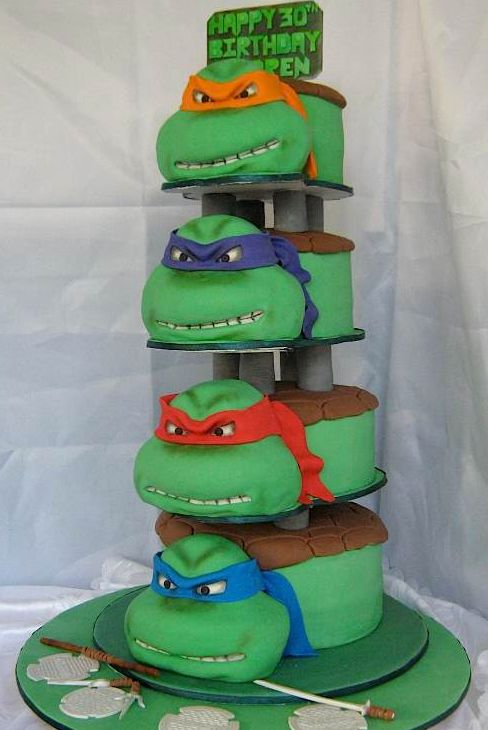 awesome+birthday+cake | ... - funny picture #3471 - tags: awesome turtles birthday cake all four