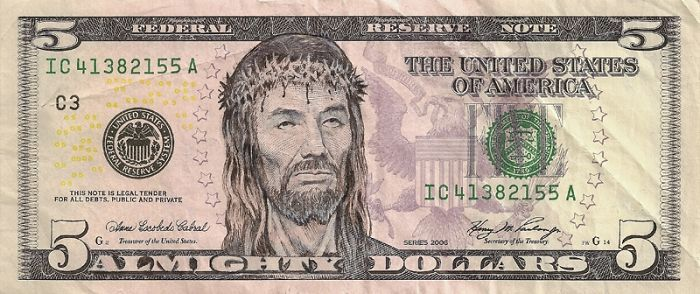 Image result for jesus money