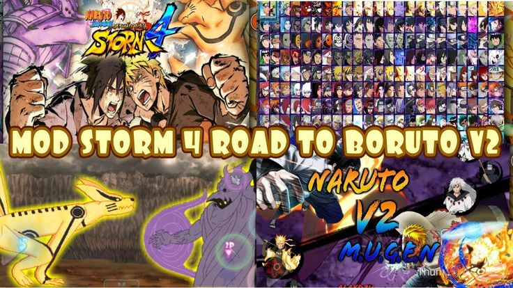 BLEACH VS NARUTO MOD Naruto Shippuden Storm 4 Road to