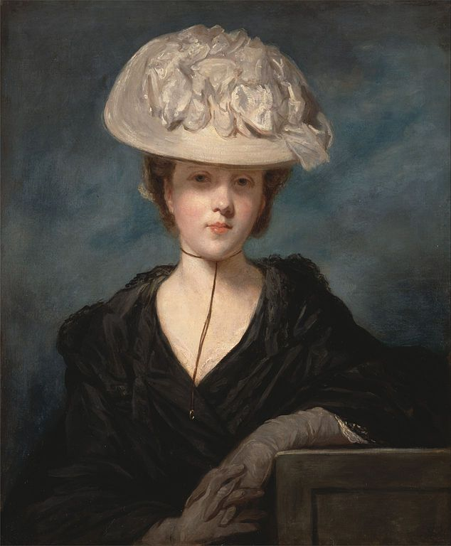 Joshua Reynolds, Miss Mary Hickey, olio su tela, ritratto, 1770,Yale Center for British Art, Paul Mellon Collection, Wallington, Connecticut, USA