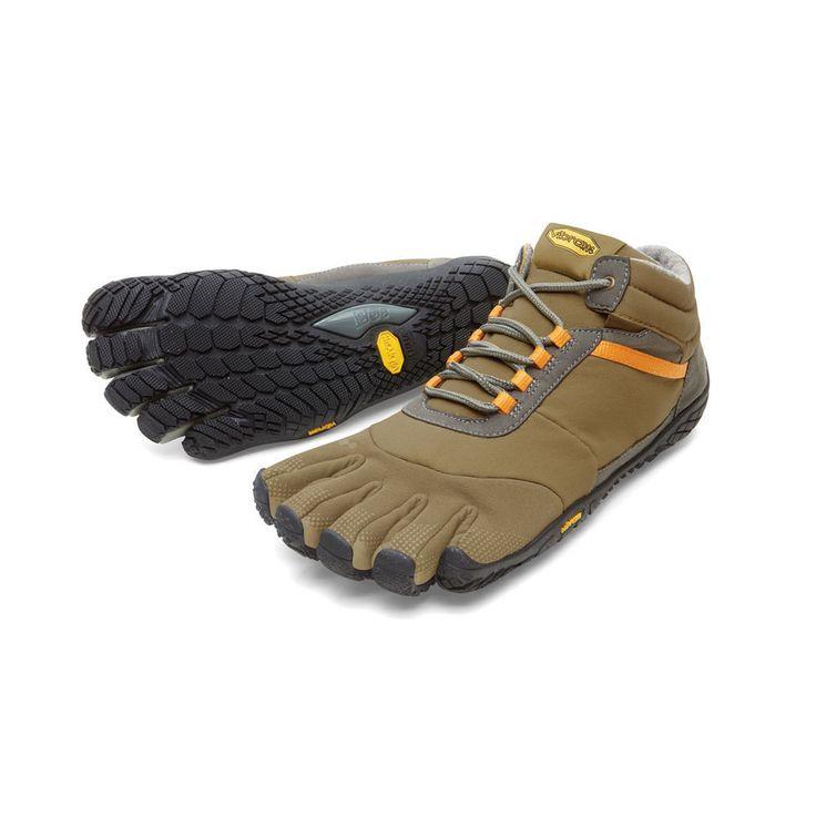 Vibram Fivefingers Trek Ascent Insulated Tan/Grey/Black Men's Size 46