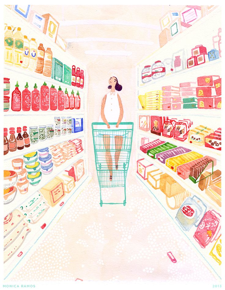MONICA RAMOS: Here's an illustration I made for Yummy Magazine's...