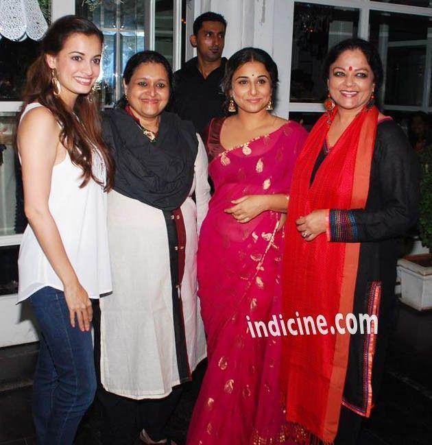 Diya Mirza, Supriya Pathak, Vidya Balan and Tanvi Azmi
