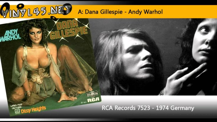 Dana Gillespie - Andy Warhol - David Bowie Cover