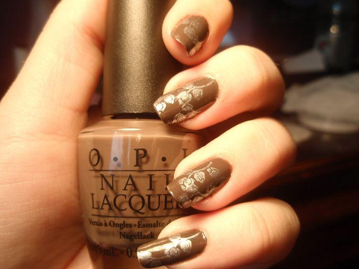 30 Fotos de uñas decoradas con color marrón – brown nails   Decoración de  Uñas - - Best 25+ Brown Nail Art Ideas That You Will Like On Pinterest