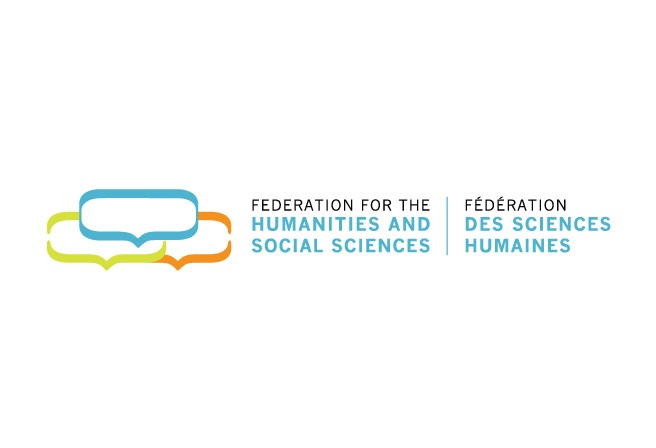 This logo design was developed for Federation for the Humanities and Social Sciences after a decision to rename and rebrand the organization. The speech bubbles signify FHSS' core activity: sharing knowledge and building connections in the community. http://www.cyansolutions.com/work/services/corporate-identity #ottawa #marketingottawa #marketing #design #logo #logodesign #web #print