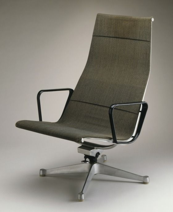 Charles and Ray Eames for Herman Miller Furniture Company, Chair, c. 1958, Los Angeles County Museum of Art, gift of the employees of Herman Miller, Inc., © The Charles and Ray Eames Estate