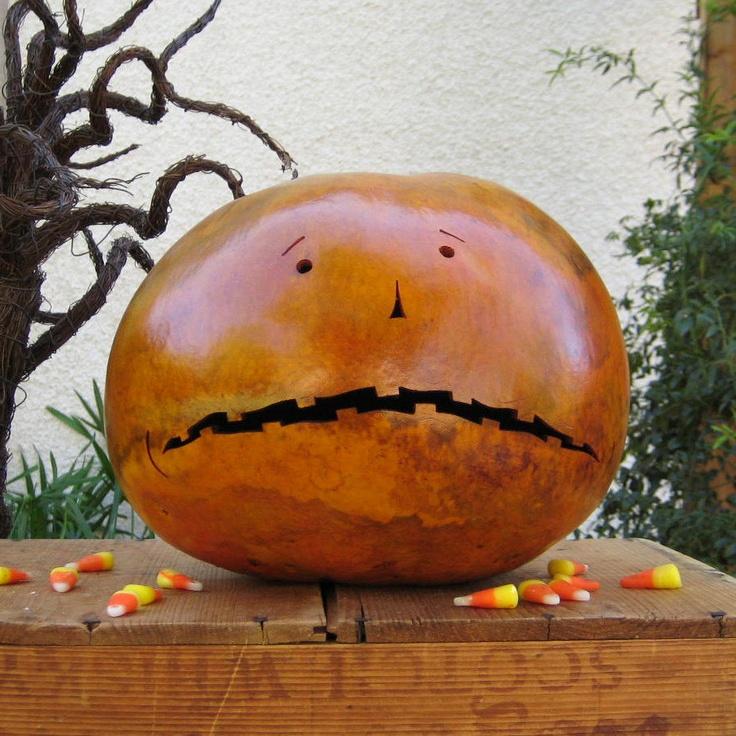 An anxious gourd.