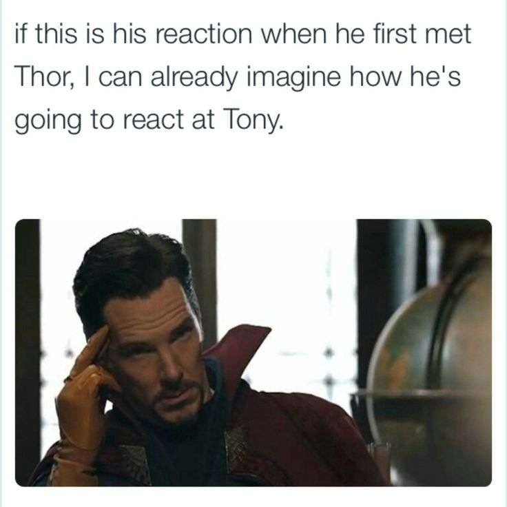 If this is his reaction when he first met Thor, I can already imagine how he's going to react at Tony.