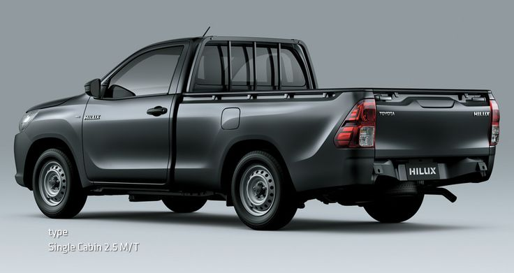All New Hilux S Cab - Mobil Niaga Terbaik - AUTO2000 - Single Cabin 2,5 M/T side back view