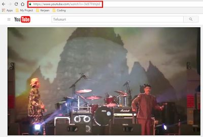 kalautau.com - download video dari Youtube sangat mudah dan tidak perlu menggunakan bantuan beberapa software. Berikut adalah tutorialnya