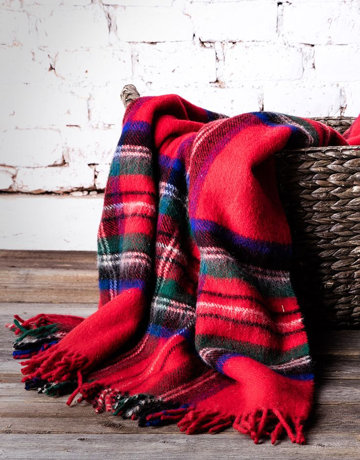 Palace Wool Blanket. It's a perfect addition to any chair or sofa, giving instant style and warmth to complete a room.