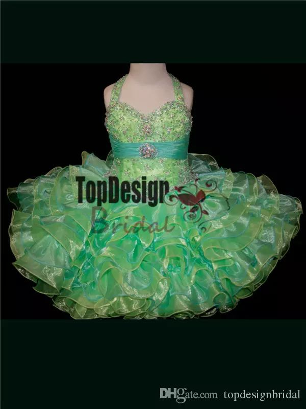 2017 Wholesale Multi Colored Toddler Pageant Dress Little Girl Cupcake Dresses Style Sr264 Affordable Pageant Dresses Baby Beauty Pageant Dresses From Topdesignbridal, $80.4| Dhgate.Com