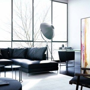 Luxury chaise longue