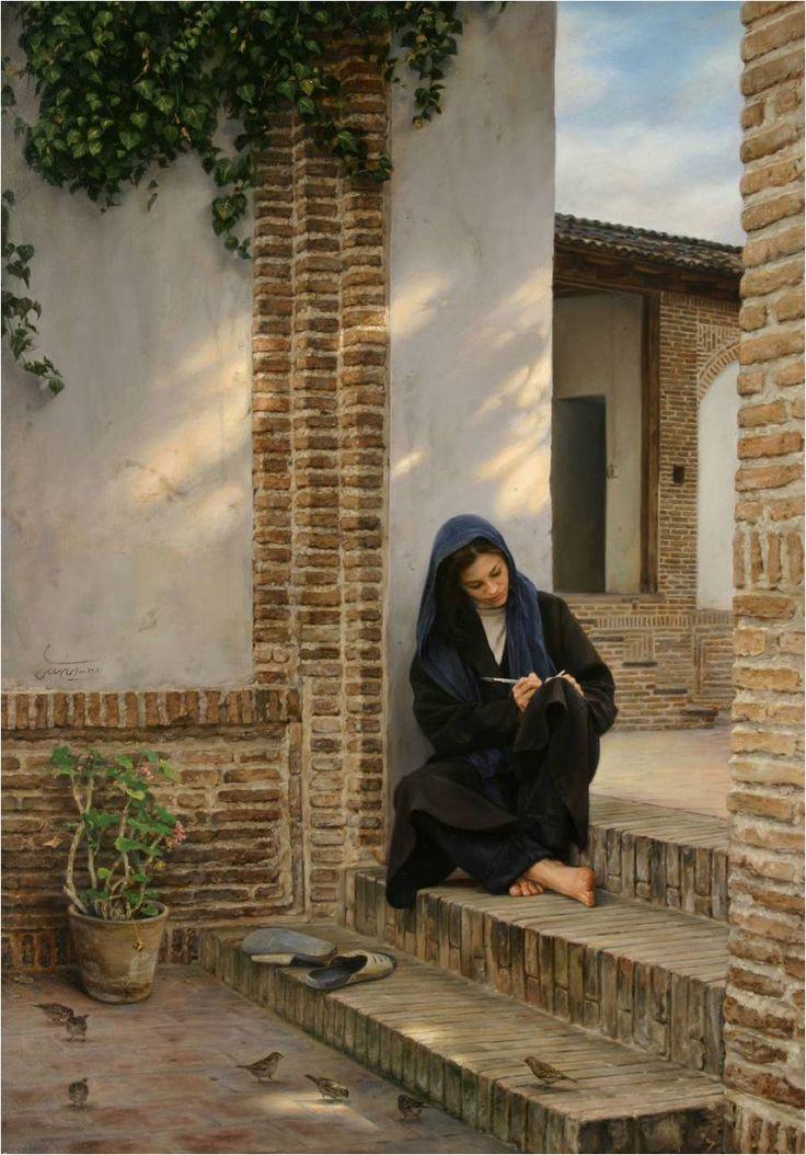 Iman Maleki: Photos or Paintings?